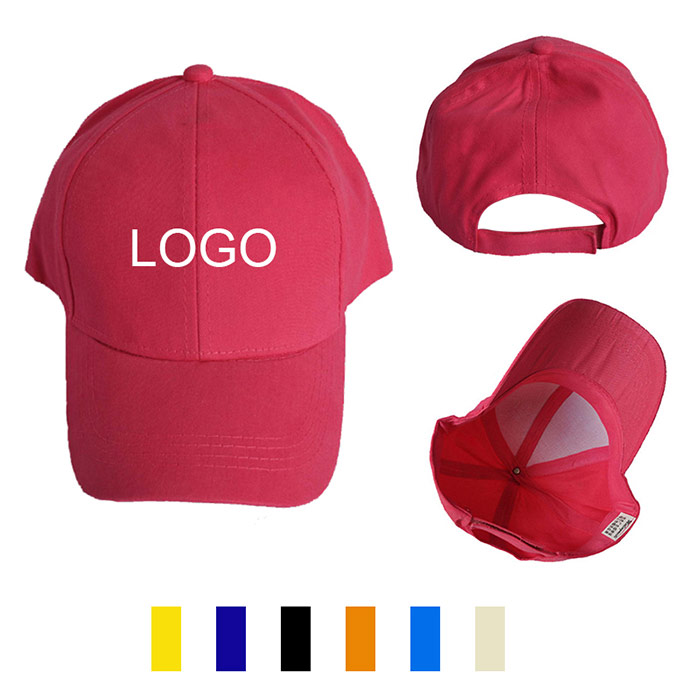 6 Panel Polyester & Cotton Cap