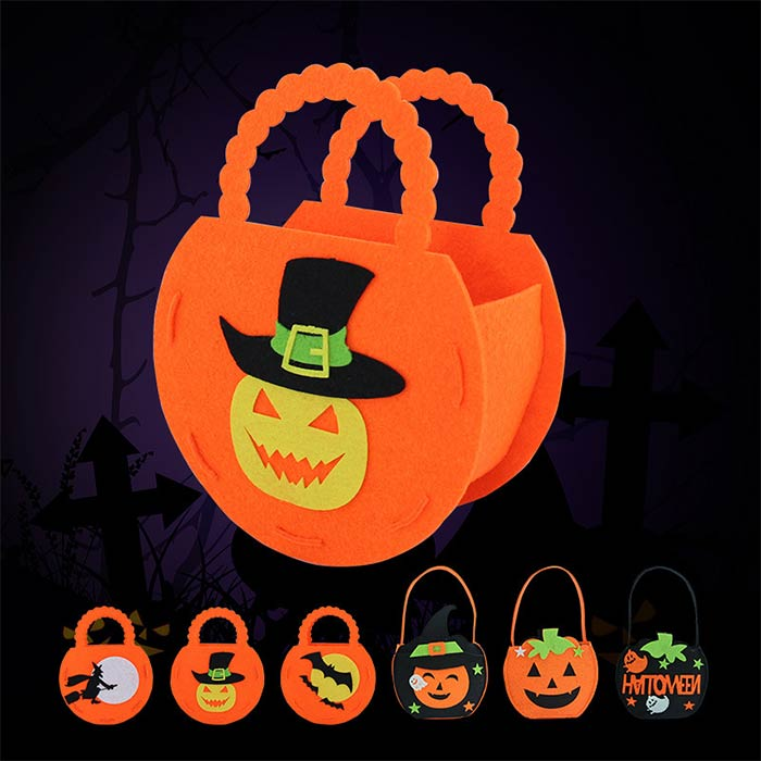 Promotional Halloween Pumpkin Bag