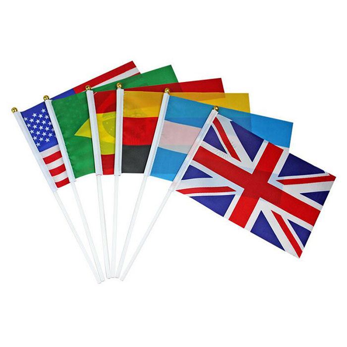 100% Polyester Flags of World