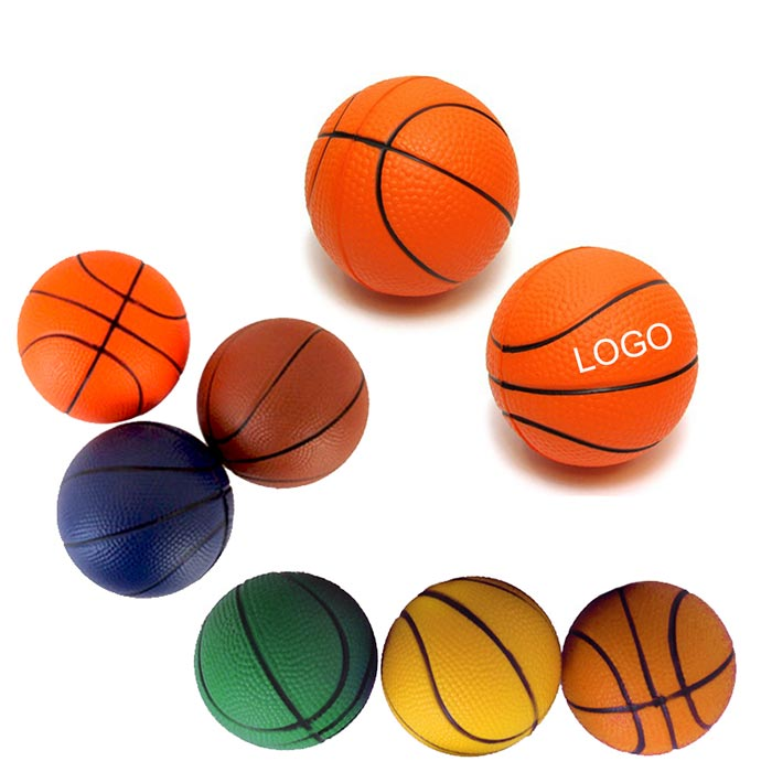 PU Stress Basketball w/ Custom Logo