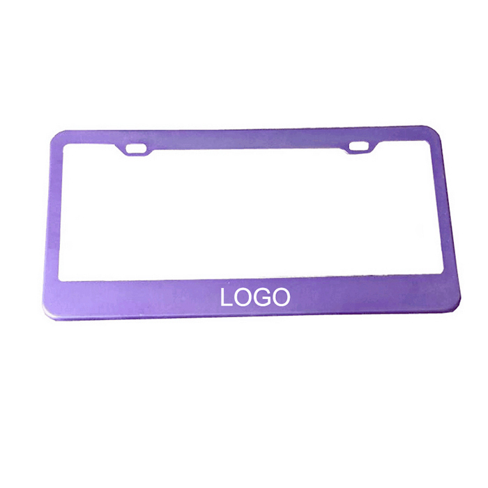 Customized License Plate Frame