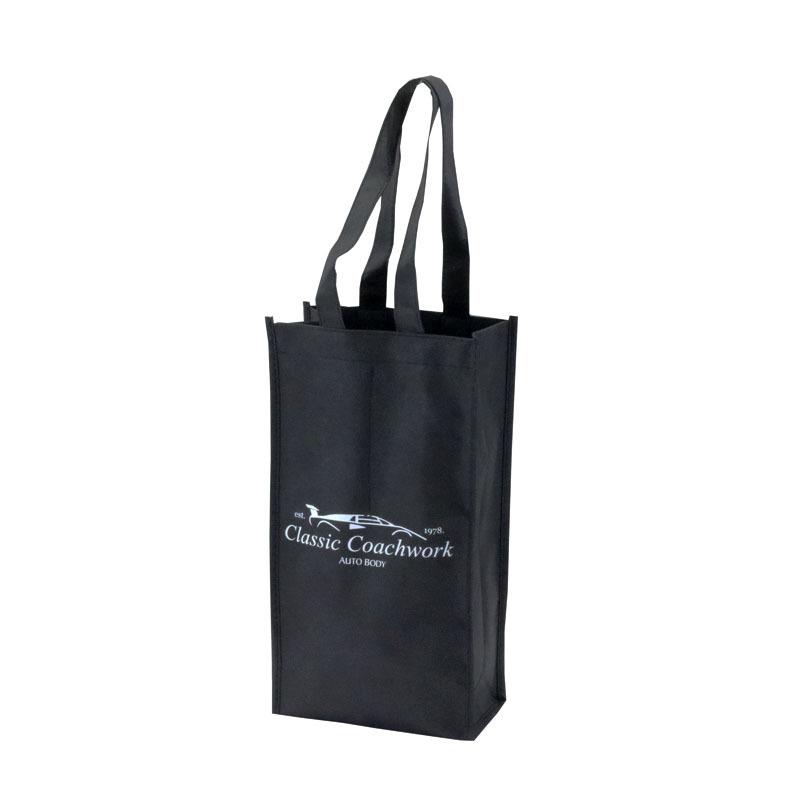 Promotional 2 Bottles Non-Woven Wine Bag Supplier