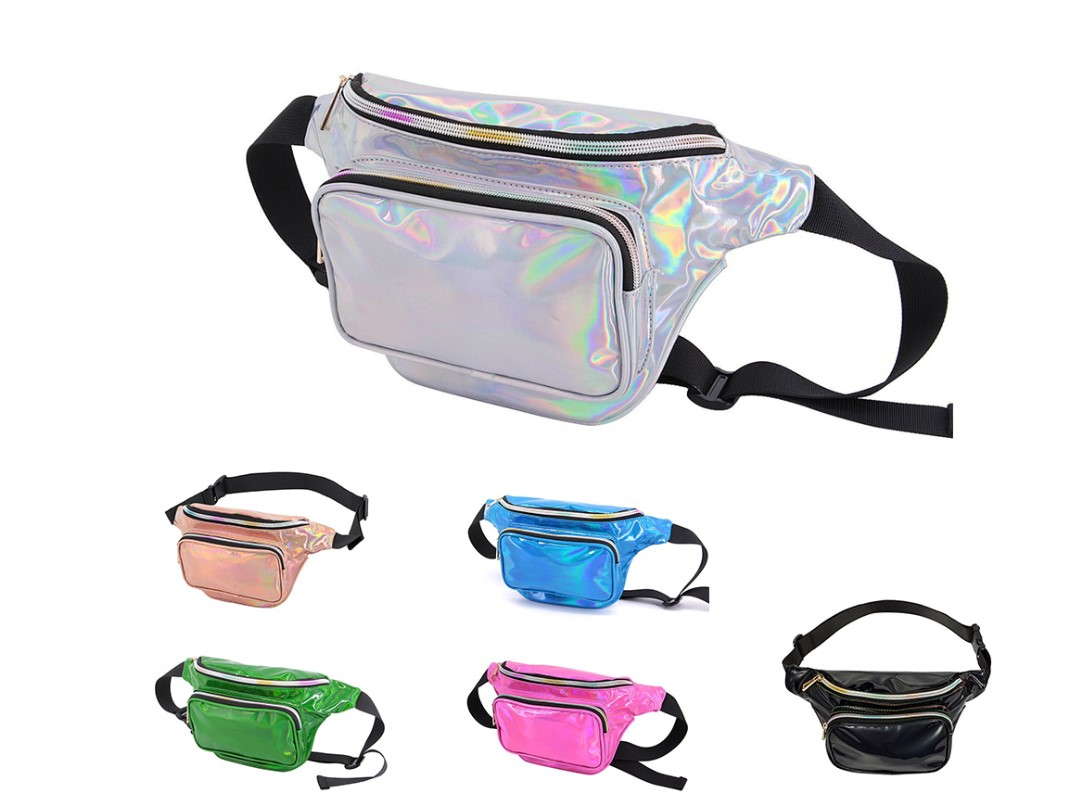 2019 Quick Seller Holographic Fanny Pack/ Waterproof Waist Bag
