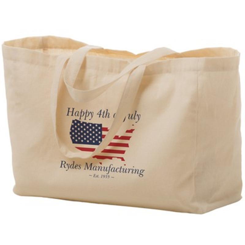2019 Quick Seller 6 oz. Cotton Canvas Tote Bag