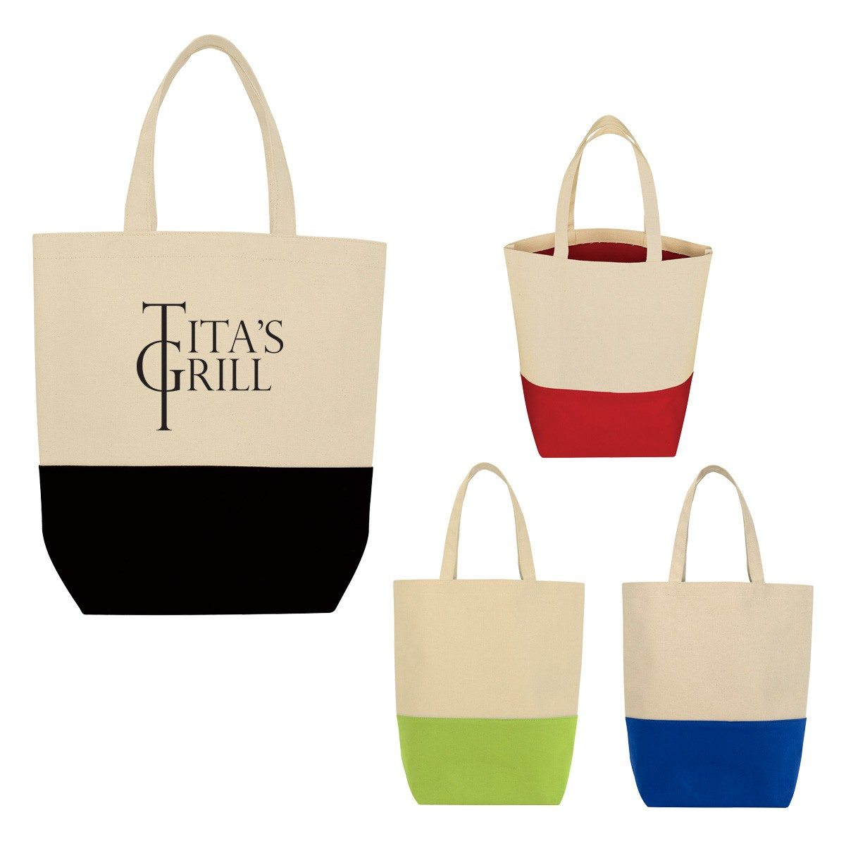 2019 Quick Seller Tote-And-Go Canvas Cotton Tote Bag