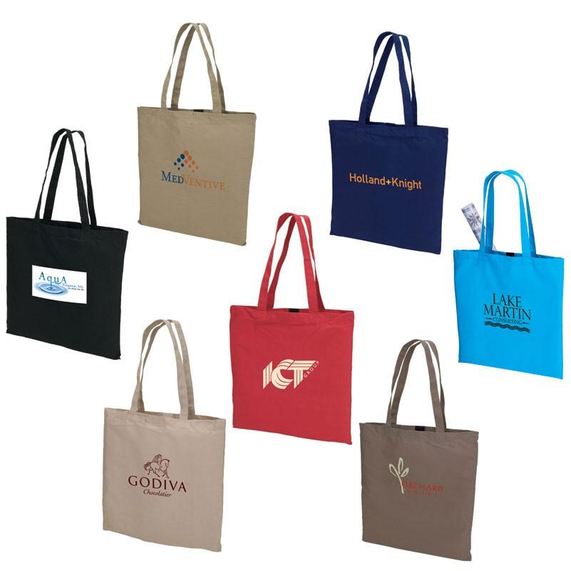 2019 Quick Seller Negozio Colored Cotton Tote Bag