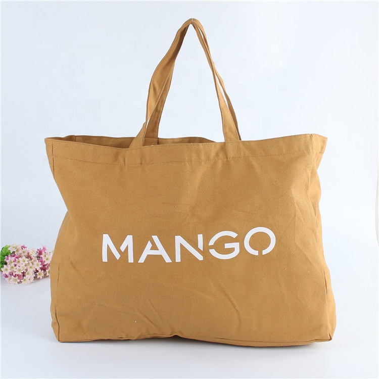 Custom Jumbo Cotton Tote Bag