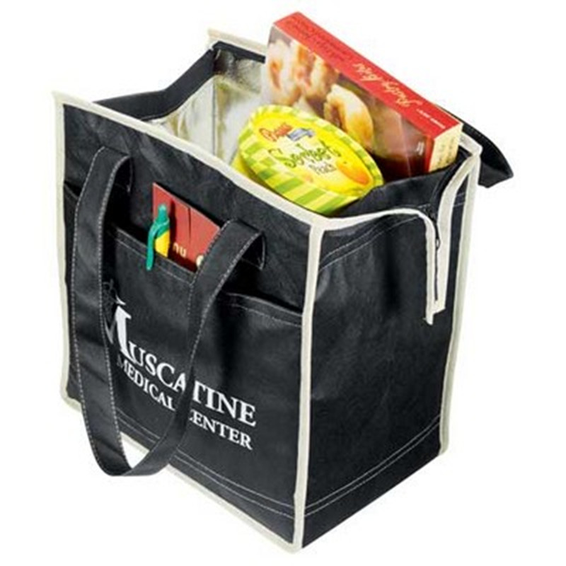 Quilted Insulated Non-Woven Cool Tote Bag