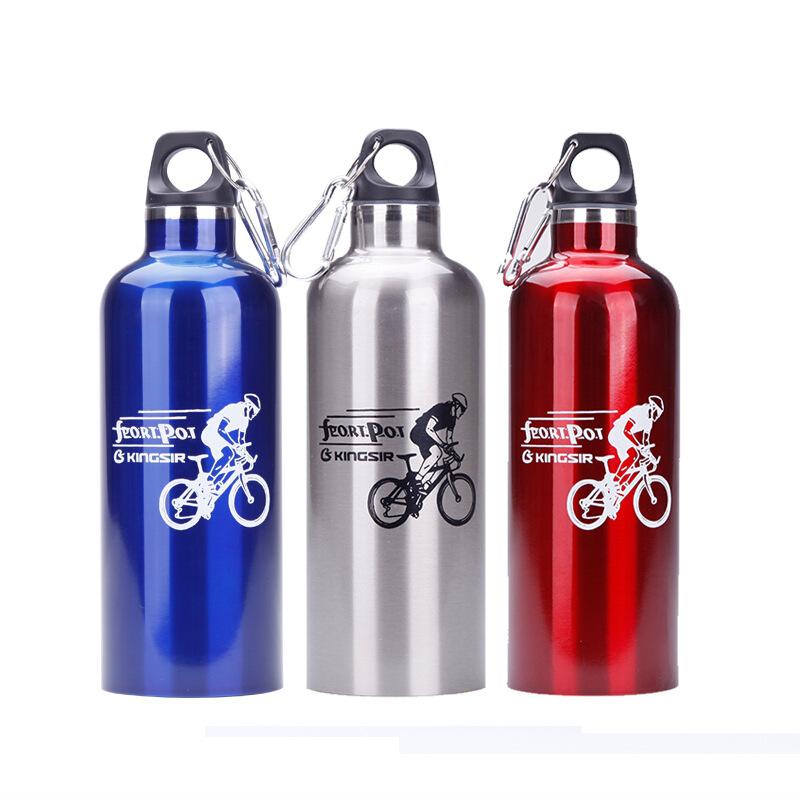 20 Oz. Aluminum Sport Bottles w/ Carabiner