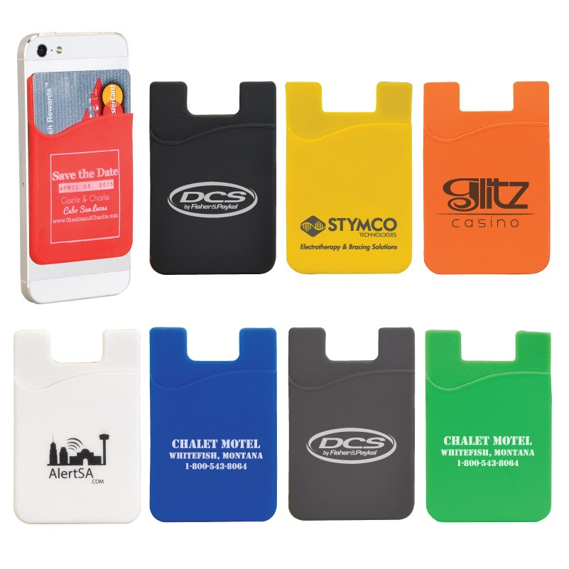 2019 Hot Sale The Silicone Phone Card Set