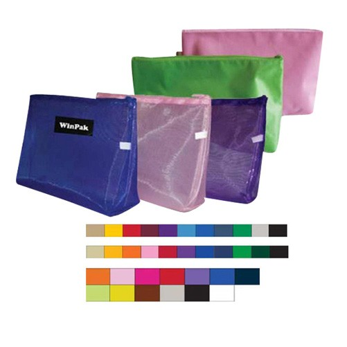420 D Polyester Cosmetic Bag With Zippered Closure