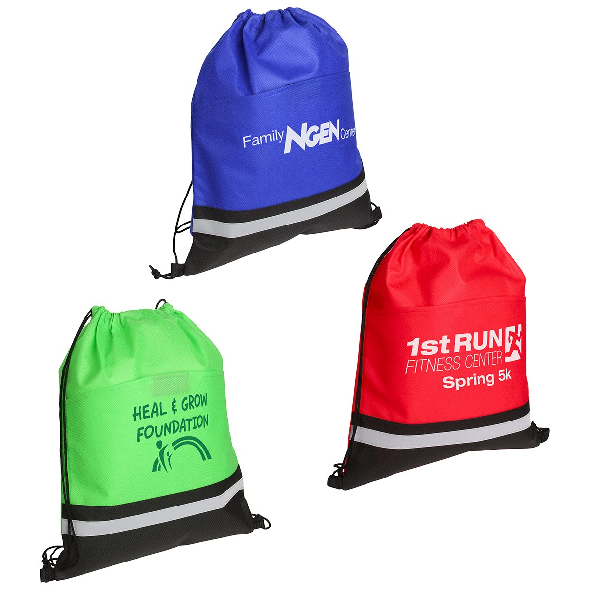 Safety Oxford Fabric Drawstring Bag
