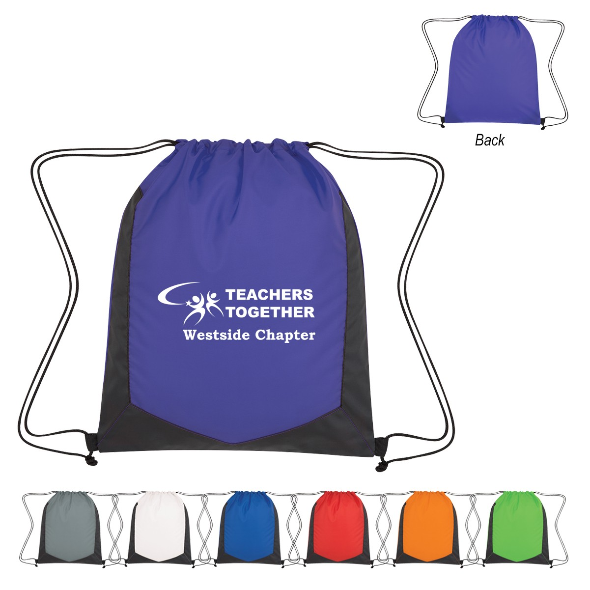 Promotional Mesh Sport Drawstring Backpack