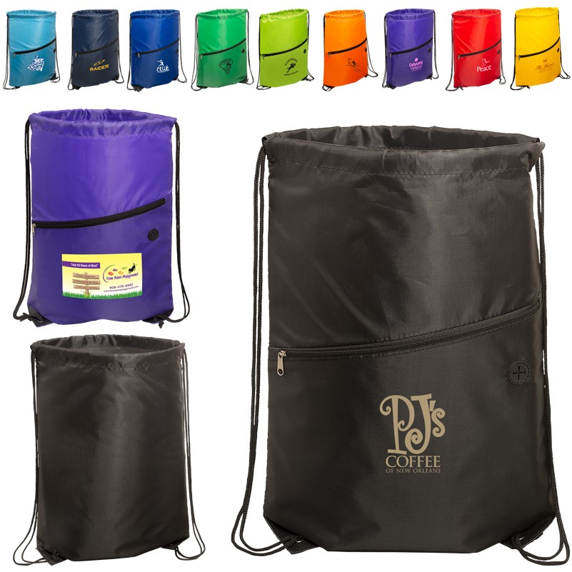 Incline Drawstring Backpack