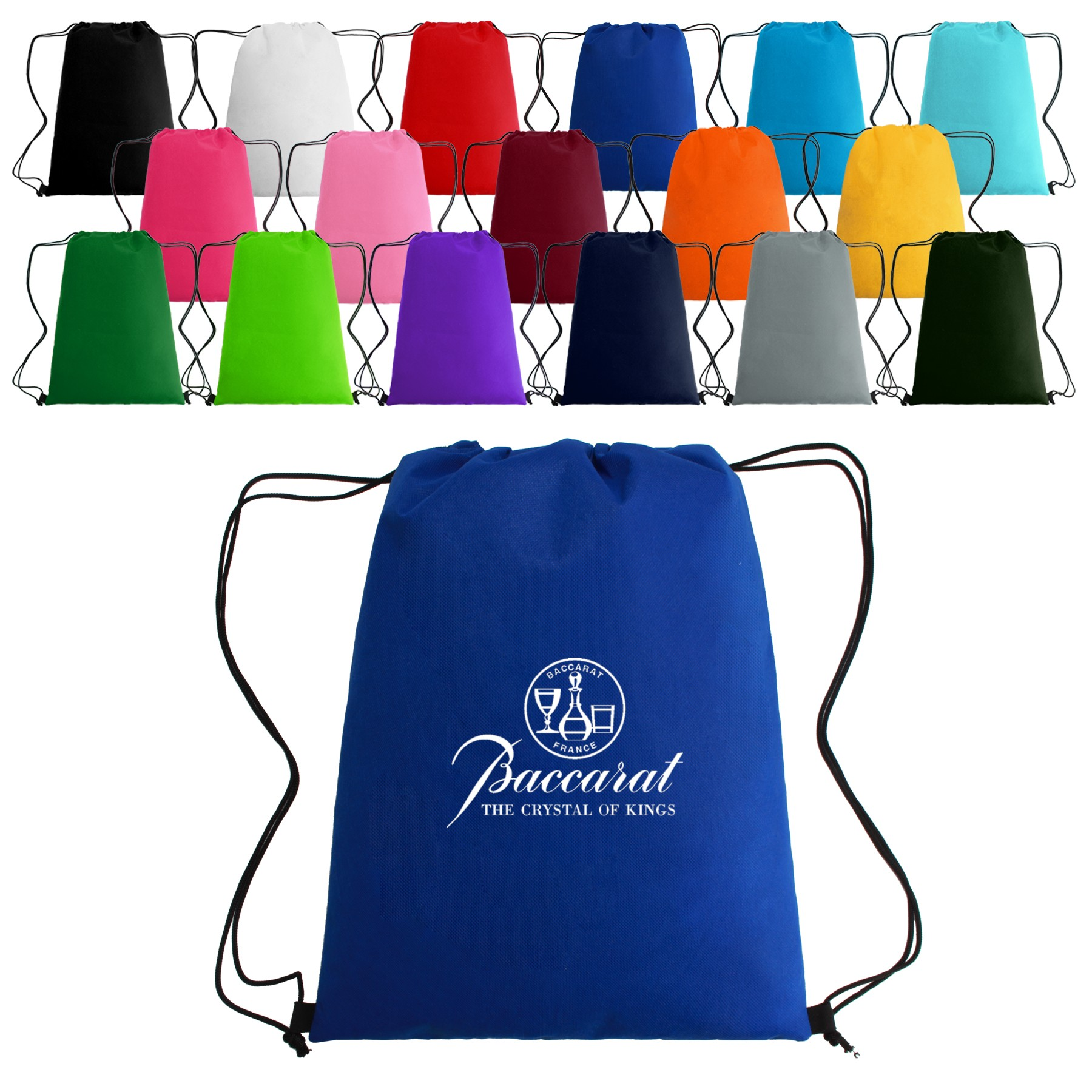 Non-Woven Drawstring Sports Bag - 14