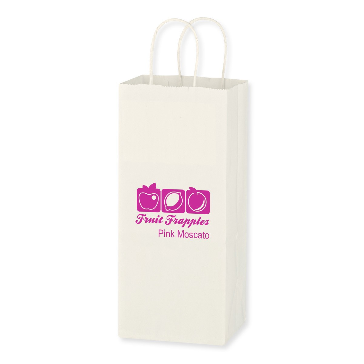 Kraft Paper White Wine Bag