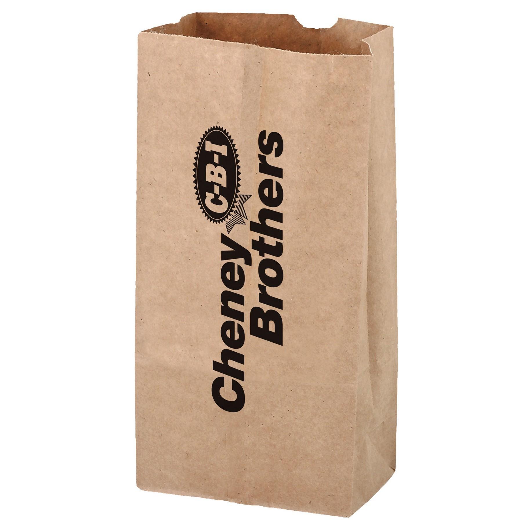 Natural Kraft Paper Popcorn Bag