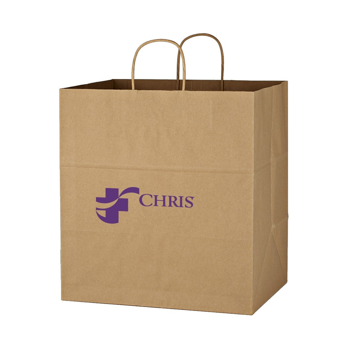 Kraft Paper Brown Shopping Bag