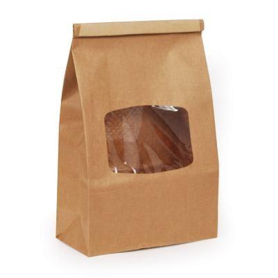 2 Lb. Window Tin Tie Bag