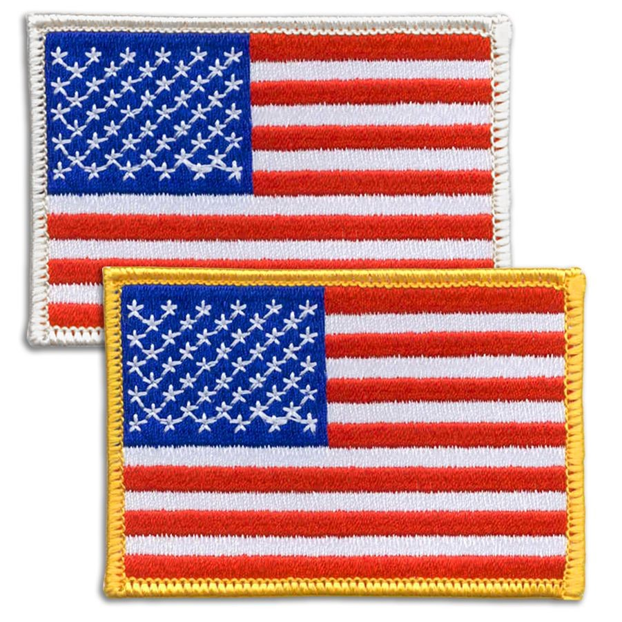 American U.S. Flag Patch