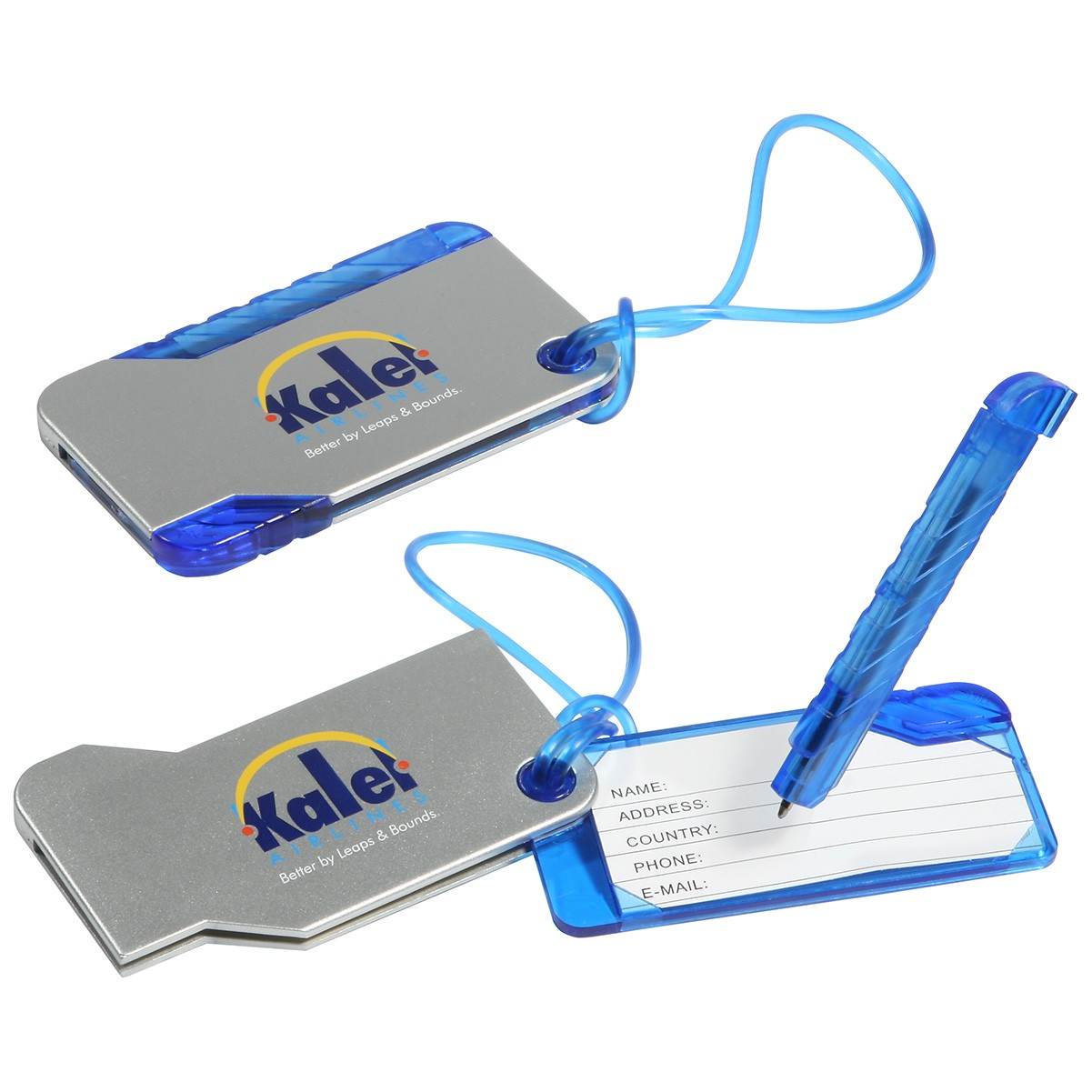 Luggage Tag And Pen