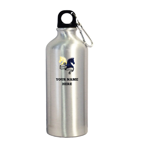 Aluminum Sports Water Bottle w/ Carabiner
