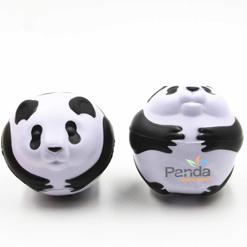 Animal PU Foam Panda Stress Toy