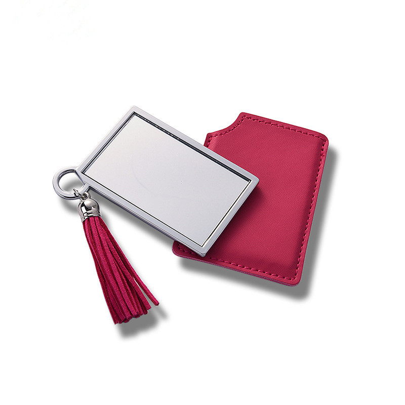 Cosmetic Mirror With PU Case