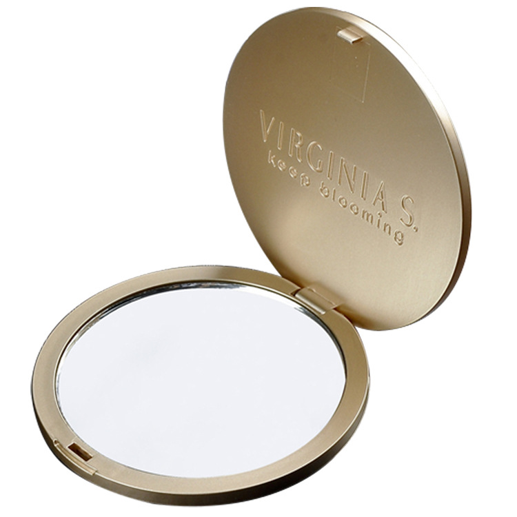 ABS Round One Side Folding Cosmetic Mirror