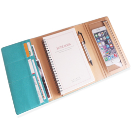 A5 Spiral bound Mul-function Business Notebook