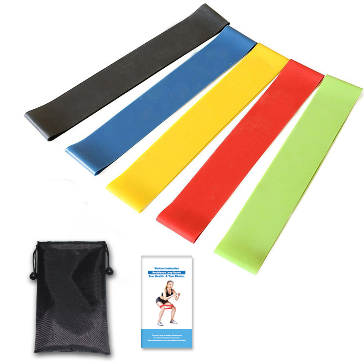 Yoga Slimming Latex Stretch Resistance Exercise Fitness Ela