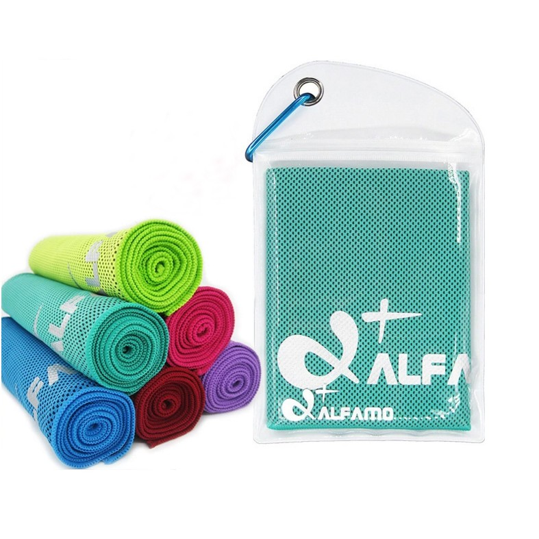 Cooling Towel In PVC Pouch