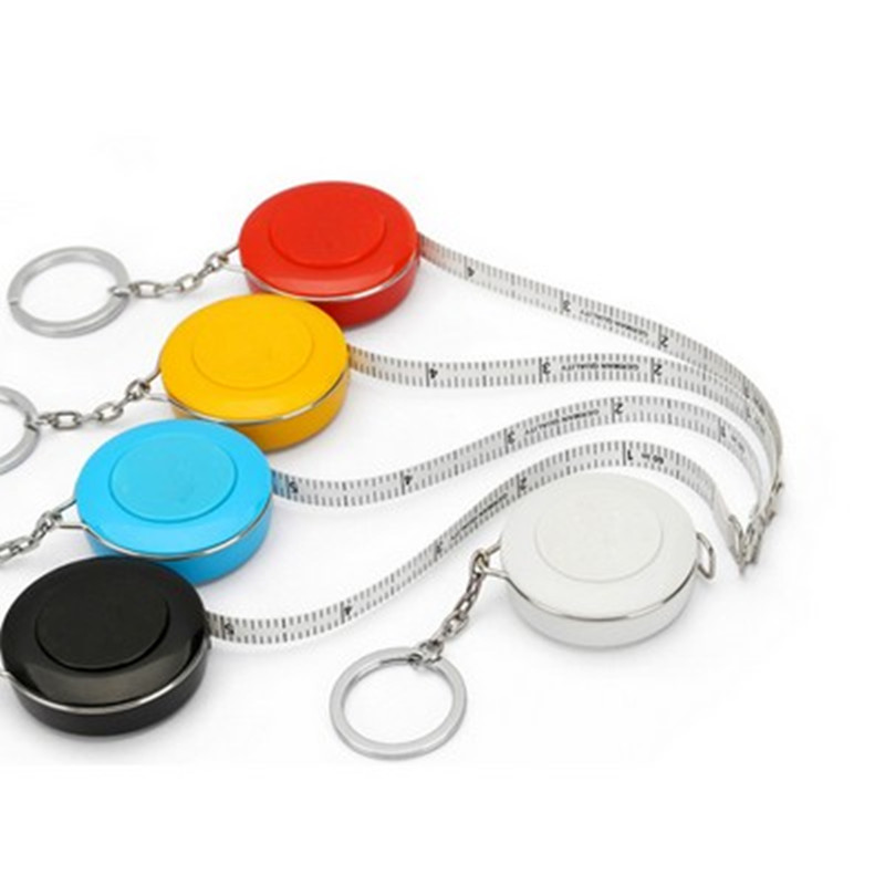 PP Round Measure Keychain