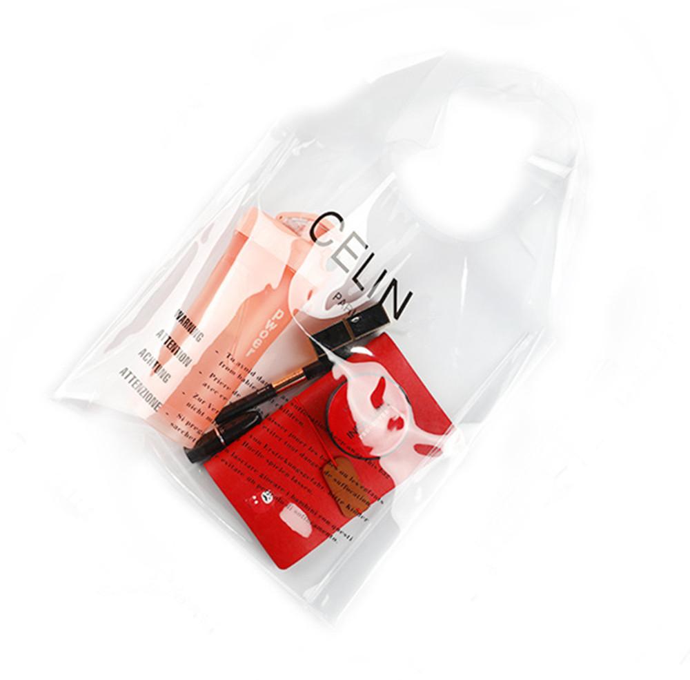 The Transparent Fashion Beach Bag