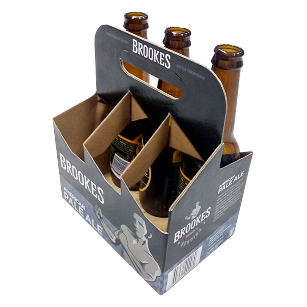 Cardboard Beer Bottle Box