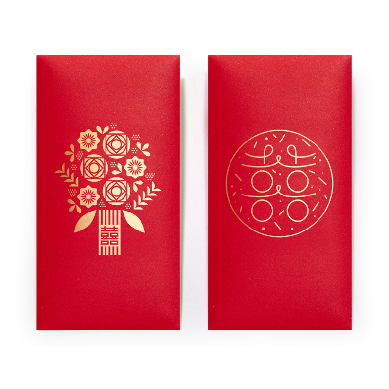 165g Pearly Paper Red Envelopes