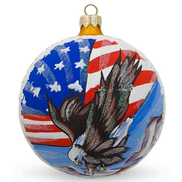 Colorful Glass Christmas Ball